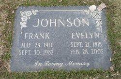 "Florence Evelyn ""Evelyn"" <I>Hodgins</I> Johnson"