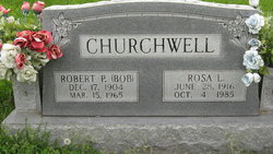 "Robert Patton ""Bob"" Churchwell"