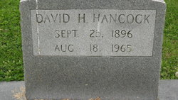 David H Hancock