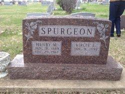 """Virginia """"Virgie"""" <I>Toliver</I> Spurgeon"""