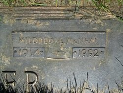 Mildred E <I>McNeal</I> Porter