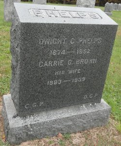 Carrie G. <I>Brown</I> Phelps