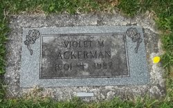 Violet M Ackerman