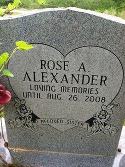 Rose A. Alexander