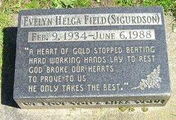 Evelyn Helga <I>Sigurdson</I> Field