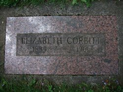"Elizabeth ""Lizzie"" <I>Meggett</I> Corbett"