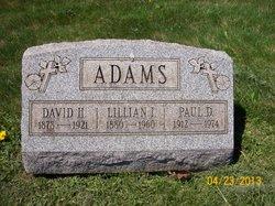 Lillian I. <I>Bergmann</I> Adams