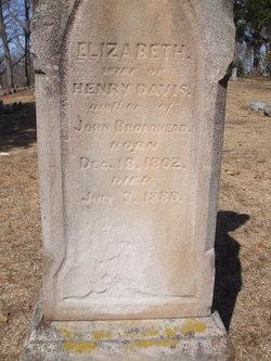 Elizabeth <I>Henry</I> Davis