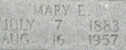 Mary E. <I>Rasberry</I> Brock