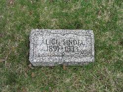 Alice Mary <I>Whitney</I> Sindel