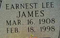 Earnest Lee James