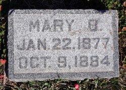 Mary B McMillan