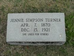 Jennie Simpson Turner