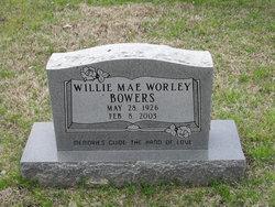 Willie Mae <I>Worley</I> Bowers