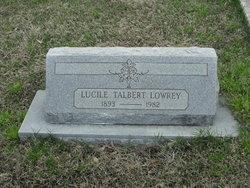 Lucile Talbert Lowrey