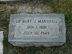 Dr Burt J Marshall
