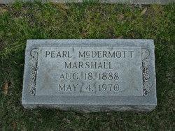 Pearl McDermott Marshall