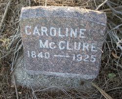 Caroline <I>Runnells</I> McClure