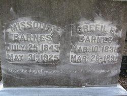 Missouri <I>Beasley</I> Barnes