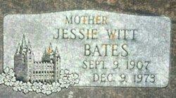 Jessie <I>Witt</I> Bates
