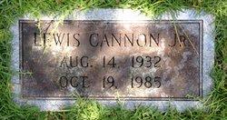 Lewis Albert Cannon, Jr