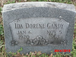 Ida Dorene Gandy