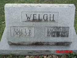 Rachel R. <I>Lochard</I> Welch