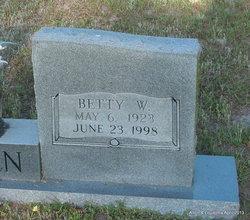 Betty Beatrice <I>Wickham</I> Bowen