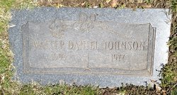 "Walter Daniel ""Walt"" Johnson"