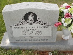Dorothy A. <I>Searcy</I> Ballentine