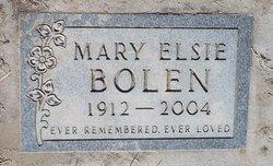 Mary Elsie <I>Tillotson</I> Bolen