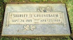 Shirley Jean <I>Schwartz</I> Gruenebaum
