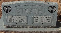 Doris Jane <I>McKnight</I> Vinson