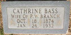 Alda Cathrine <I>Bass</I> Branch