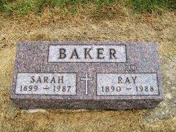 "Sarah I ""Sadie"" <I>Estabrook</I> Baker"
