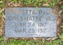 Marietta Vick