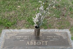 "Jewel Virginia ""Ginny"" <I>Hart</I> Abbott"