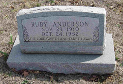 Alice Ruby <I>Strickland</I> Anderson