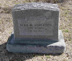 Vera M. <I>Blueford</I> Anderson