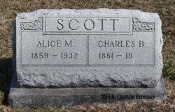 Alice M <I>Bowles</I> Scott