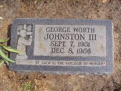 """George Worth """"Cotton"""" Johnston, III"""