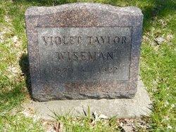 Violet May <I>Taylor</I> Wiseman