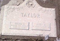 Mary Hannah <I>Bennett</I> Taylor