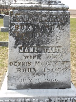 Jane <I>Tait</I> McCarthy