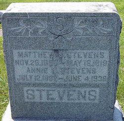 Annie Lee <I>Greer</I> Stevens