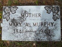 Mary Ann Elizabeth <I>West</I> Murphy