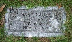 Mary Guion <I>Gauss</I> Annan