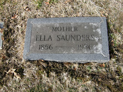 Ella <I>Rains</I> Saunders