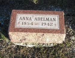 "Anna Frances ""Annie"" <I>Wankel</I> Adelman"