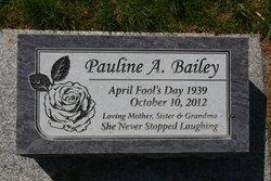 Pauline A Bailey